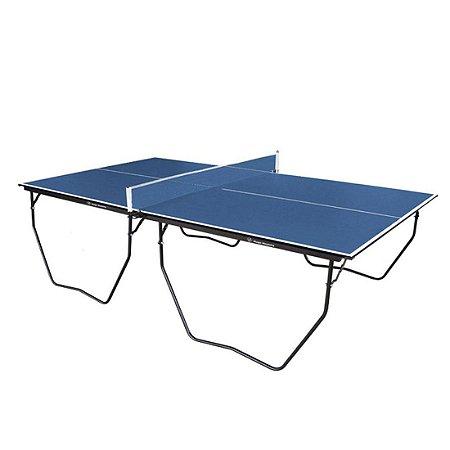 Mesa de Tênis de Mesa AX Esportes Dobrável com Rodas  MDF 15 mm - Mod.061