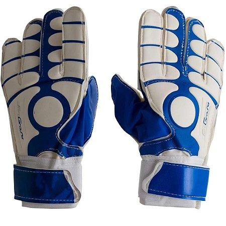 Luva de Goleiro Pro AX Esportes Adulto Azul - YWA046