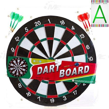 Jogo de Dardo AX Esportes Dupla Face - Ywa212