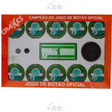 Jogo de Botão Ax Esportes Verdão
