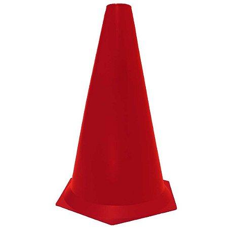 Cone 23cm Rígido p/ Treinamento AX Esportes Vermelho