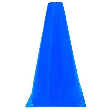 Cone de 17cm para Treinamento AX Esportes -Azul