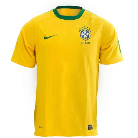 Camisa Nike CBF Brasil - Edição Especial Amarela - TAMANHO G