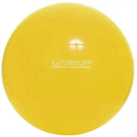 Bola Fitball Liveup 75cm - Suporta 200 Kg