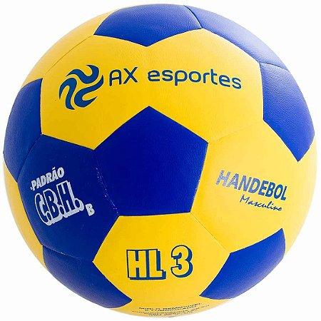 Bola de Handebol Masculino AX Esportes HL3 Matrizada