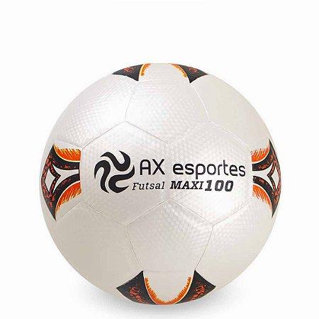 Bola de Futsal AX Esportes Maxi 100 Matrizada com 32 Gomos