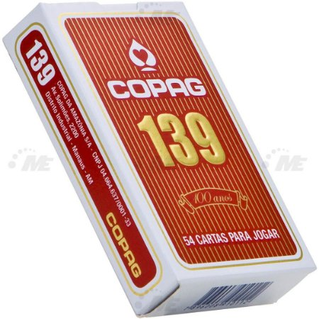 Baralho Copag 139 Classic Vermelho