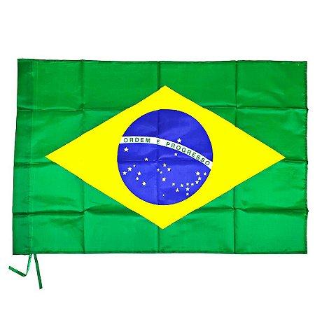Bandeira do Brasil Torcedor Ax Esportes 60 x 90cm