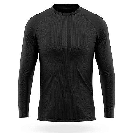 Camisa Térmica Segunda Pele Prot UV Manga Longa AX Esportes