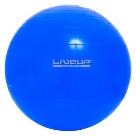 Bola Fitball Liveup 65cm - Suporta 200 Kg