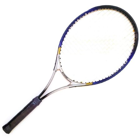 Raquete de Tênis Adulto T27 Alumínio Azul c/ Raqueteira