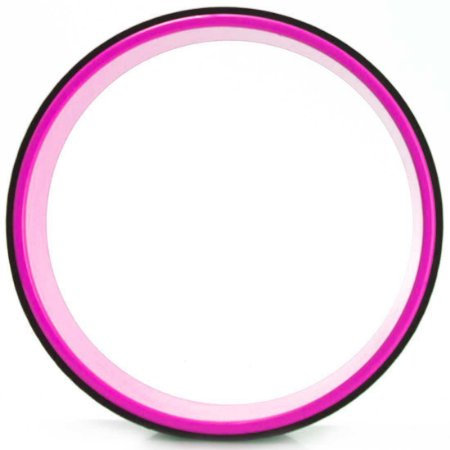 Roda Yoga e Pilates (Yoga Wheel) AX Esportes Rosa
