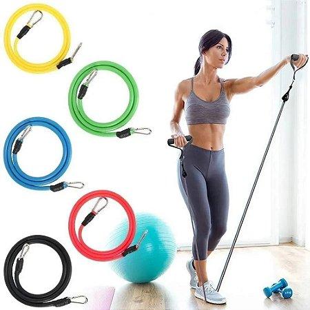 Kit Tubing Yoga 11 Peças AX Esportes