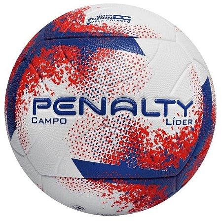 Bola de Campo Líder XXI Penalty - Branca/Vermelha