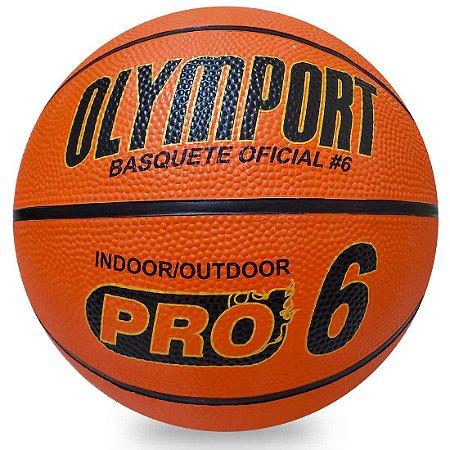 Bola de Basquete Mirim Pro 6 Olymport