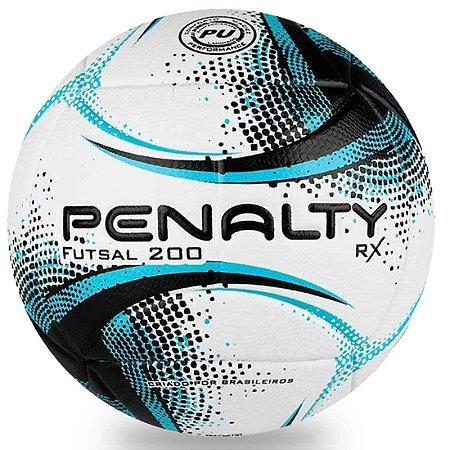 Bola de Futsal Penalty RX 200 XXI - Branca e Azul