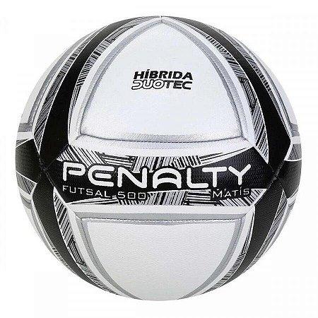 Bola de Futsal Penalty Matís Duotec 500 X - Pt/Br