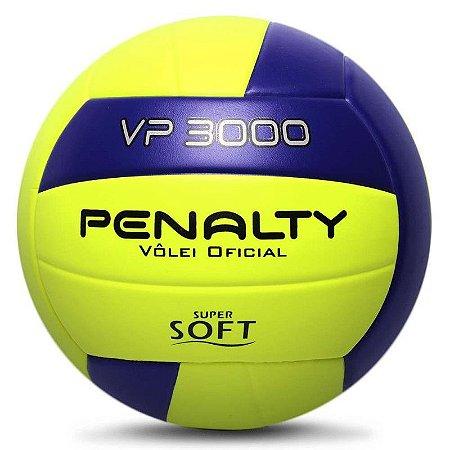 Bola de Vôlei Penalty VP 3000 X Roxa e Amarela