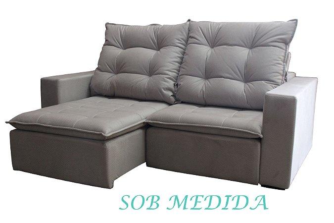 SOB MEDIDA - Sofá Retrátil e Reclinável Sophia