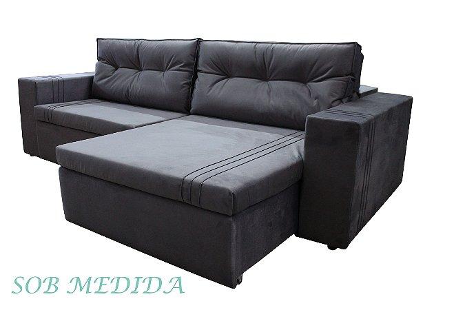 SOB MEDIDA - Sofá Retrátil e Reclinável Olivia
