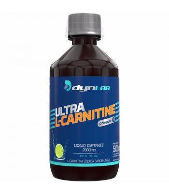 L-carnitina DynLab 500ml - limão