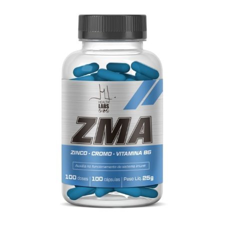 ZMA - 100 capsulas