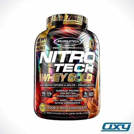 Nitrotech Whey Gold 2,51kg