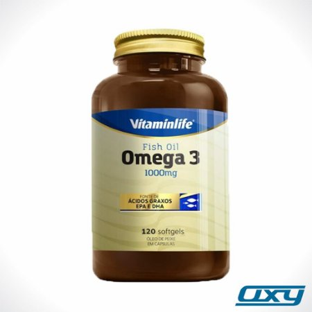 Ômega 3 1000mg 120 soft