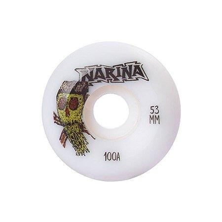 Roda Narina Profissional 53mm Pizza