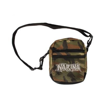 Shoulder Bag Narina Tela Logo Camu