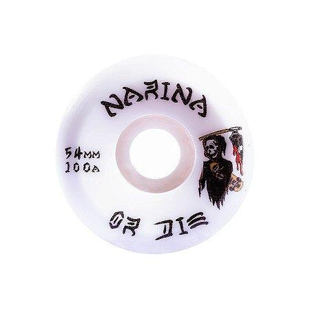 Roda Narina Profissional 54mm Death