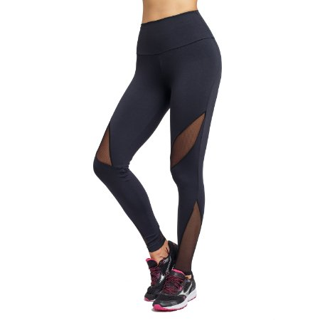 Legging Fitness Recortes Tule