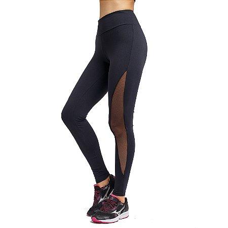 Legging Fitness Meia Lua Tule