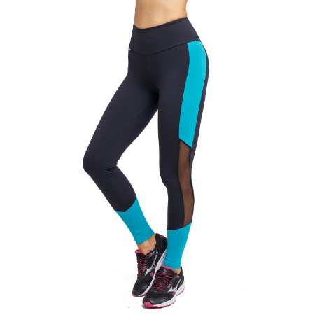 Legging Fitness Cintura Alta Blue Side
