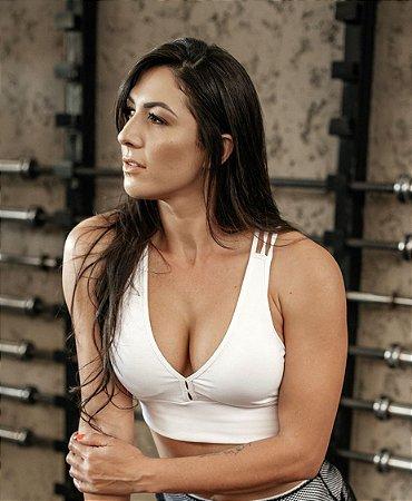 Top Fitness Strappy Cós Largo