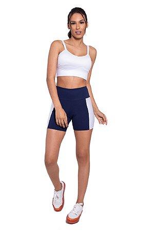 Conjunto Fitness Top e Short CrossFit White