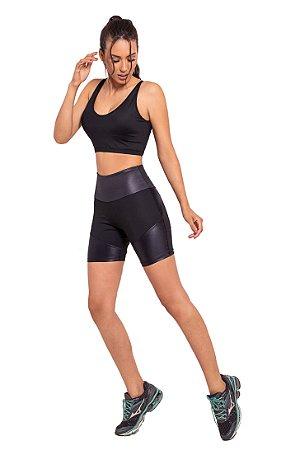 Conjunto Fitness Cintura Alta Back Strappy