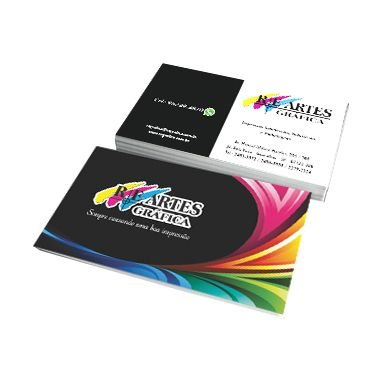 Cartão de Visita | Personalizado | Laminação Fosca e Verniz Localizado Frente e Verso