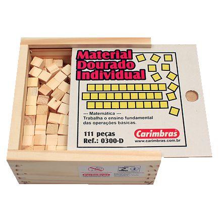 Material Dourado Individual - 111 Peças
