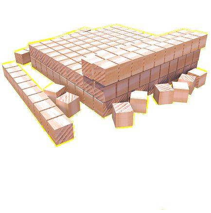 Material Dourado 111 Peças TNT