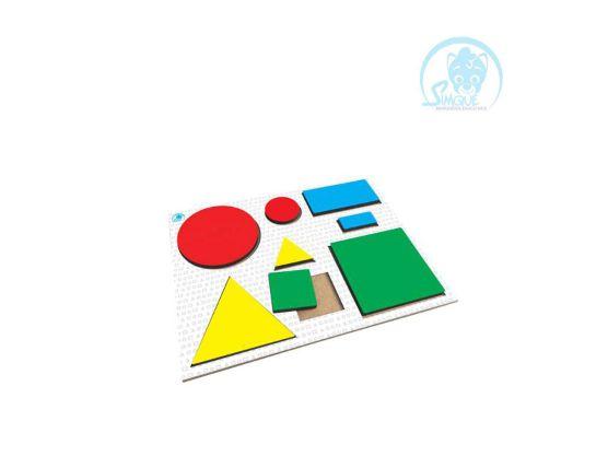 Figuras Geométricas com Encaixe