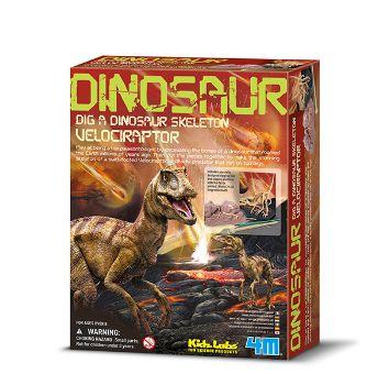 Kit Velociraptor Escavação