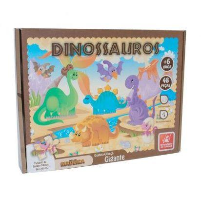 Quebra-Cabeça Gigante - Dinossauro