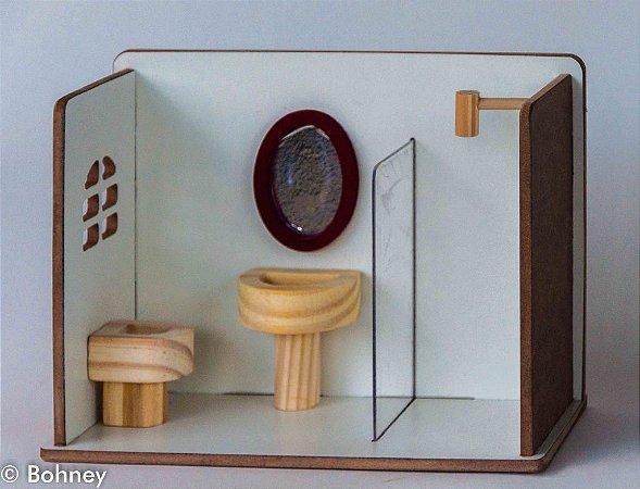 KIT BANHEIRO BOX BANHEIRINHO
