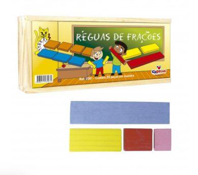RÉGUAS DE FRAÇÕES