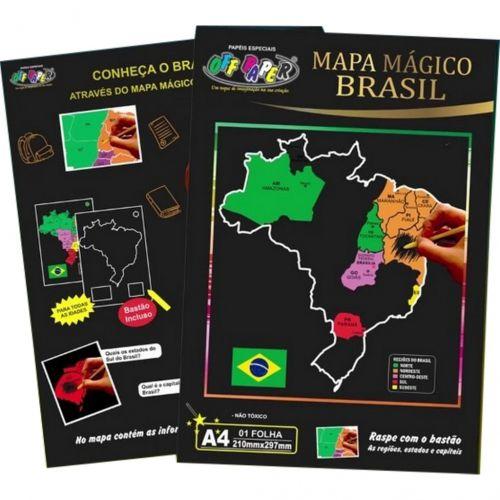 MAPA DO BRASIL A4