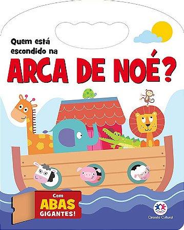 LIVRO QUEM ESTÁ ESCONDIDO NA ARCA DE NOÉ