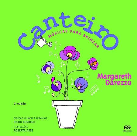 CANTEIRO MÚSICAS PARA BRINCAR  LIVRO E CD