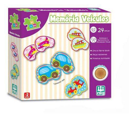 MEMÓRIA VEICULOS 24 PEÇAS