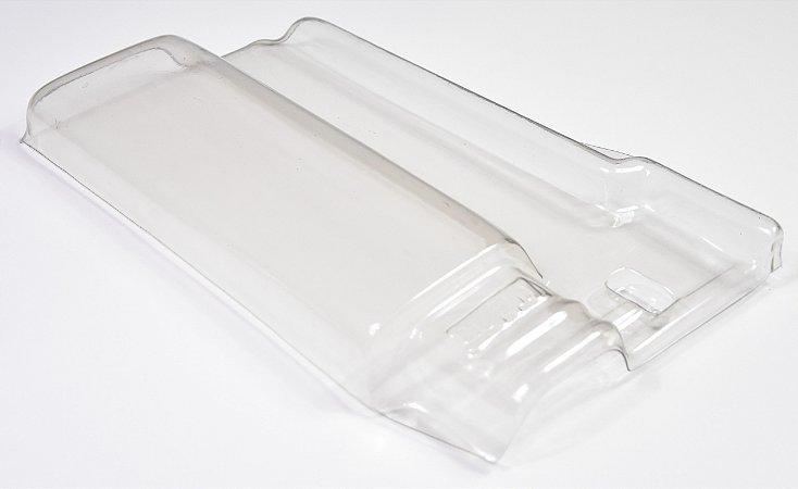 Kit 10 Telhas Transparente pet Romana